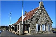 NO5608 : Secret Bunker guardhouse by Jim Barton