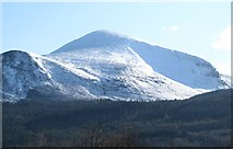 J3630 : Donard Forest backed by Slieve Donard and its acolyte Thomas's Mountain by Eric Jones