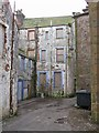 NY1381 : Back of boarded up building, Lockerbie by Richard Dorrell