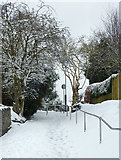 SO9096 : Footpath to Goldthorn Hill, Wolverhampton by Roger  Kidd