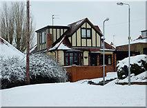 SO9096 : Detached house in Penn, Wolverhampton by Roger  Kidd