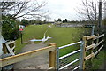 SP4809 : Thames Path at Godstow Bridge by Graham Horn