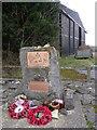 ST9506 : Memorial at Tarrant Rushton Airfield by Nigel Mykura