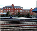 SP5006 : Oxford railway station nameboard by Jaggery
