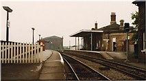 SK7954 : Newark Castle railway station, 1983 by Nigel Thompson