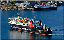 NM8529 : MV Lord of the Isles approaching Oban by The Carlisle Kid