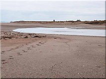 NU0545 : North Low, Cheswick Sands by Oliver Dixon