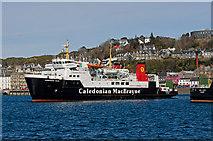 NM8529 : Hebridean Isles leaving Oban - 1 by The Carlisle Kid
