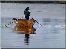 H5776 : Angler, Loughmacrory by Kenneth  Allen