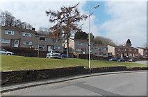 SS8983 : Pleasant View houses, Aberkenfig by Jaggery