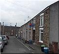 SS8983 : Dan-y-Lan houses, Aberkenfig by Jaggery