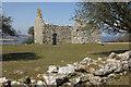 SH4986 : Lligwy Chapel by Stephen McKay