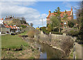 NZ8512 : Sandsend Beck by Pauline E