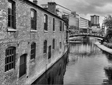 SP0586 : Old Turn Roving Bridge  Birmingham centre by Gillie Rhodes