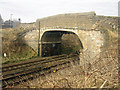 NT9954 : Bridge over the East Coast Mainline, Berwick-upon-Tweed by Graham Robson