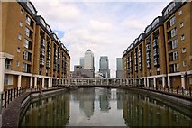 TQ3680 : The Hilton Docklands on Nelson Dock by Steve Daniels