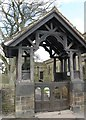 SK2796 : The Jubilee Gates at St.Mary's Church by Dave Pickersgill