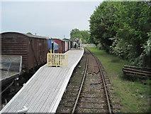 TR2849 : Eythorne railway station, Kent by Nigel Thompson
