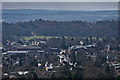 TQ2550 : Reigate from Reigate Hill by Ian Capper