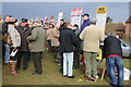 SO8541 : Bookies at Upton Point-to-Point by Philip Halling