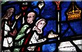 TR1557 : Stained Glass, Canterbury Cathedral by Julian P Guffogg