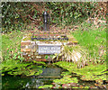 TQ3728 : The village pump at Ludwell  by Stephen Craven
