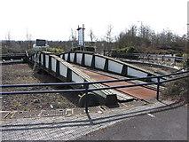 SU1484 : Disused turntable, Swindon by Gareth James