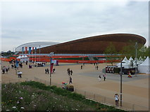 TQ3785 : Stratford: the Olympic Velodrome by Chris Downer