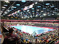 TQ3784 : Stratford: inside the Copper Box by Chris Downer