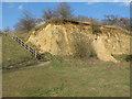 TQ5978 : Mill Wood Sand Cliff by Roger Jones