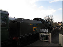 TQ4023 : Southern Railway loco at Sheffield Park by Stephen Craven