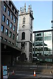 TQ3280 : Tower of Former Church of St Mary  Somerset by N Chadwick