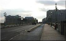 TQ3280 : A300 crossing Southwark Bridge by N Chadwick