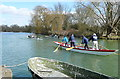 SP5203 : Activity above Iffley Lock by Graham Horn