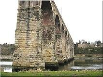 NT9953 : Royal Border Bridge - Berwick on Tweed by frank smith