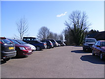 TM4069 : Darsham Railway Station Car Park by Adrian Cable