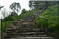 SW5129 : The Pilgrims' Steps, St.Michael's Mount by Peter Trimming
