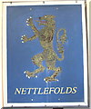 SP0583 : Screw-work collage of lion rampant, Winterbourne House by David Hawgood