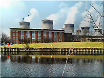 SE4824 : Ferrybridge Power Station Old Generating Hall by derek dye