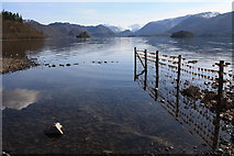 NY2622 : Across Derwent Water by Colin Kinnear