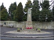 NZ2289 : Longhirst War Memorial by JThomas