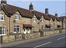 SK2666 : Rowsley - Chatsworth Road Nos 29 to 34 by Dave Bevis