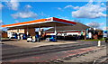 SU0783 : Esso filling station and Spar shop, Royal Wootton Bassett by Jaggery