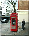 TQ2778 : Cash In The Phone Box by Des Blenkinsopp