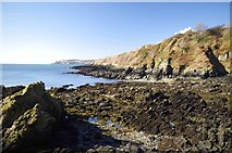 SC4077 : The Rocks of Oncan Harbour by Glyn Baker