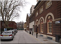 TQ3282 : Norman Street, London, EC1 by David Hallam-Jones