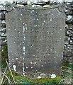 NZ0712 : Historic Headstone by Matthew Hatton