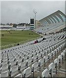 SK5838 : Trent Bridge Cricket Ground: lunch on the third day by John Sutton