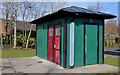 J4058 : Public toilets, Saintfield by Albert Bridge
