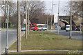 SJ3793 : Utting Avenue at Bootle branch railway bridge by Alan Murray-Rust